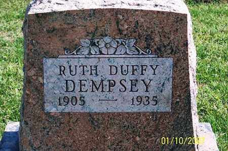 DEMPSEY, RUTH - Ross County, Ohio | RUTH DEMPSEY - Ohio Gravestone Photos
