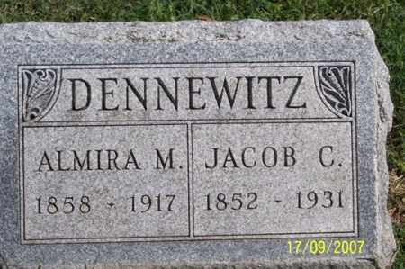 DENNEWITZ, JACOB C. - Ross County, Ohio | JACOB C. DENNEWITZ - Ohio Gravestone Photos