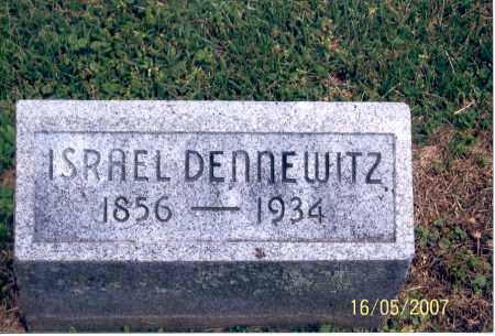 DENNEWITZ, ISRAEL - Ross County, Ohio | ISRAEL DENNEWITZ - Ohio Gravestone Photos
