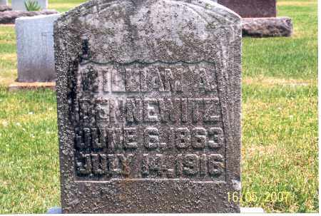 DENNEWITZ, WILLIAM A. - Ross County, Ohio | WILLIAM A. DENNEWITZ - Ohio Gravestone Photos