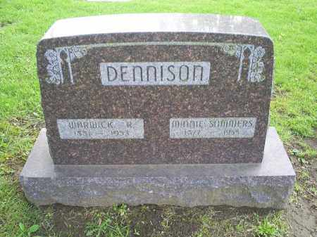 DENNISON, MINNIE - Ross County, Ohio | MINNIE DENNISON - Ohio Gravestone Photos
