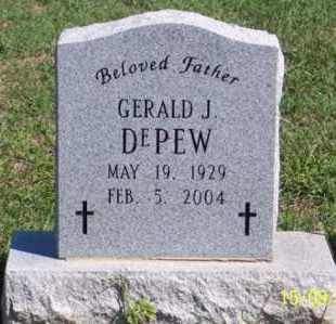 DEPEW, GERALD J. - Ross County, Ohio   GERALD J. DEPEW - Ohio Gravestone Photos