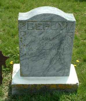 DEPOY, CHARLES - Ross County, Ohio | CHARLES DEPOY - Ohio Gravestone Photos