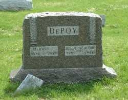 DEPOY, JOSEPHINE - Ross County, Ohio | JOSEPHINE DEPOY - Ohio Gravestone Photos