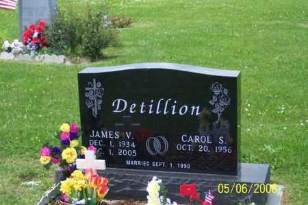 DETILLION, JAMES V. - Ross County, Ohio | JAMES V. DETILLION - Ohio Gravestone Photos