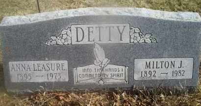 DETTY, MILTON J. - Ross County, Ohio | MILTON J. DETTY - Ohio Gravestone Photos