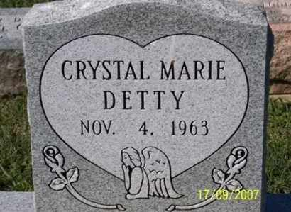 DETTY, CRYSTAL MARIE - Ross County, Ohio | CRYSTAL MARIE DETTY - Ohio Gravestone Photos