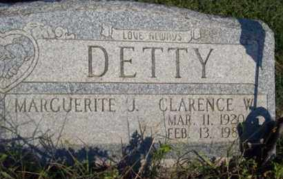 DETTY, CLARENCE W. - Ross County, Ohio | CLARENCE W. DETTY - Ohio Gravestone Photos