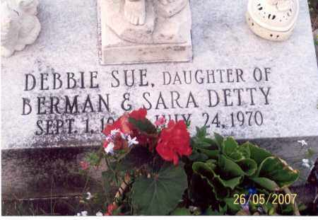 DETTY, DEBBIE SUE - Ross County, Ohio | DEBBIE SUE DETTY - Ohio Gravestone Photos