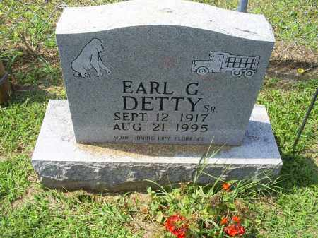 DETTY, EARL G. SR. - Ross County, Ohio | EARL G. SR. DETTY - Ohio Gravestone Photos