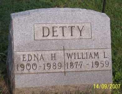 DETTY, EDNA H. - Ross County, Ohio | EDNA H. DETTY - Ohio Gravestone Photos