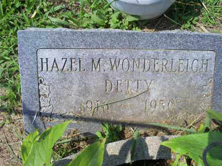 WONDERLEIGH DETTY, HAZEL M. - Ross County, Ohio | HAZEL M. WONDERLEIGH DETTY - Ohio Gravestone Photos