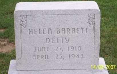 DETTY, HELEN - Ross County, Ohio | HELEN DETTY - Ohio Gravestone Photos