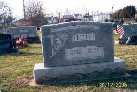 DETTY, JAMES W. - Ross County, Ohio | JAMES W. DETTY - Ohio Gravestone Photos