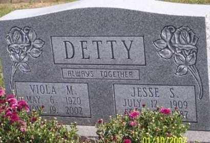 DETTY, JESSE S. - Ross County, Ohio | JESSE S. DETTY - Ohio Gravestone Photos
