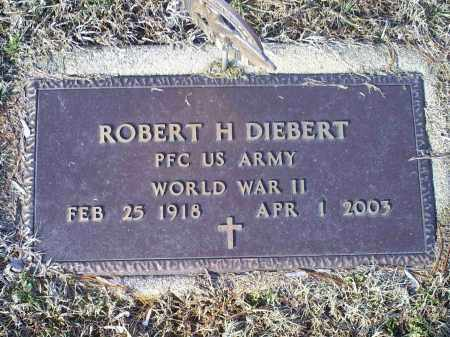 DIEBERT, ROBERT H. - Ross County, Ohio | ROBERT H. DIEBERT - Ohio Gravestone Photos