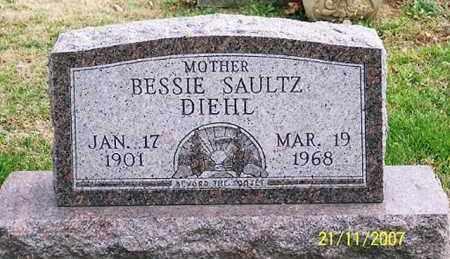 SALTZ DIEHL, BESSIE - Ross County, Ohio | BESSIE SALTZ DIEHL - Ohio Gravestone Photos
