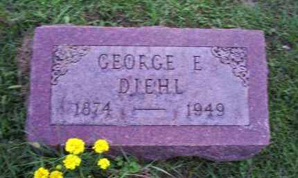 DIEHL, GEORGE E. - Ross County, Ohio | GEORGE E. DIEHL - Ohio Gravestone Photos