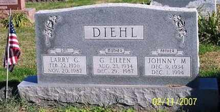 DIEHL, JOHNNY M. - Ross County, Ohio | JOHNNY M. DIEHL - Ohio Gravestone Photos