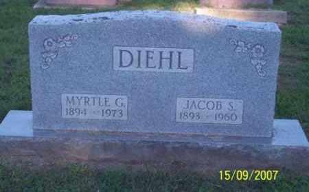 DIEHL, JACOB S. - Ross County, Ohio | JACOB S. DIEHL - Ohio Gravestone Photos