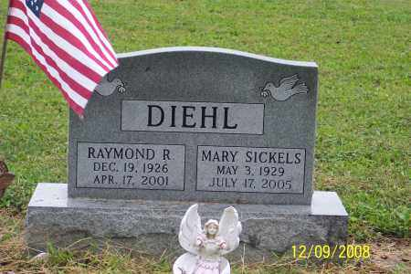 DIEHL, MARY - Ross County, Ohio | MARY DIEHL - Ohio Gravestone Photos