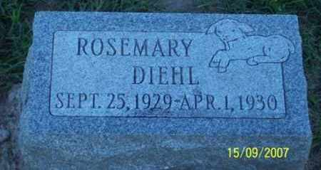 DIEHL, ROSEMARY - Ross County, Ohio | ROSEMARY DIEHL - Ohio Gravestone Photos