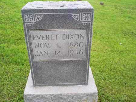 DIXON, EVERET - Ross County, Ohio | EVERET DIXON - Ohio Gravestone Photos