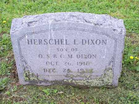 DIXON, HERSCHEL I - Ross County, Ohio | HERSCHEL I DIXON - Ohio Gravestone Photos