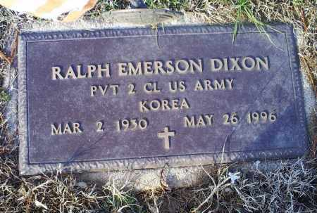 DIXON, RALPH EMERSON - Ross County, Ohio | RALPH EMERSON DIXON - Ohio Gravestone Photos