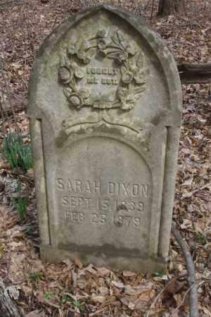 DIXON, SARAH - Ross County, Ohio | SARAH DIXON - Ohio Gravestone Photos