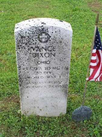 DIXON, VANCE - Ross County, Ohio | VANCE DIXON - Ohio Gravestone Photos