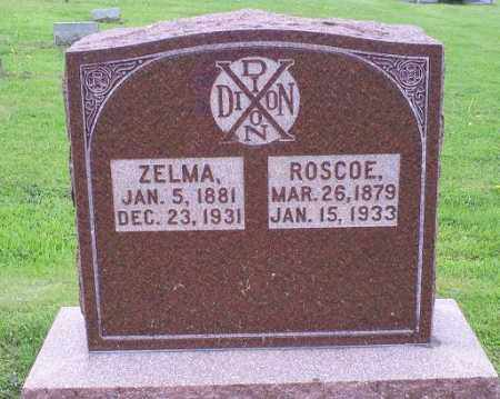 DIXON, ZELMA - Ross County, Ohio | ZELMA DIXON - Ohio Gravestone Photos