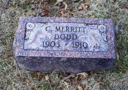DODD, C. MERRITT - Ross County, Ohio | C. MERRITT DODD - Ohio Gravestone Photos