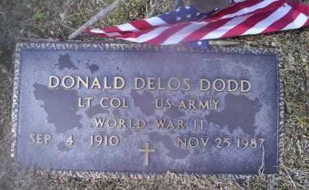 DODD, DONALD DELOS - Ross County, Ohio | DONALD DELOS DODD - Ohio Gravestone Photos