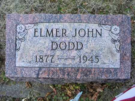DODD, ELMER JOHN - Ross County, Ohio | ELMER JOHN DODD - Ohio Gravestone Photos