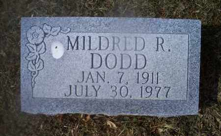 DODD, MILDRED R. - Ross County, Ohio | MILDRED R. DODD - Ohio Gravestone Photos