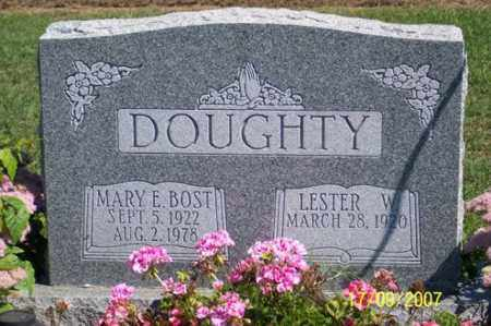 BOST DOUGHTY, MARY E. - Ross County, Ohio | MARY E. BOST DOUGHTY - Ohio Gravestone Photos