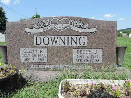 DOWNING, GLENN F. - Ross County, Ohio | GLENN F. DOWNING - Ohio Gravestone Photos