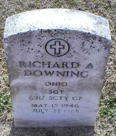DOWNING, RICHARD A. - Ross County, Ohio | RICHARD A. DOWNING - Ohio Gravestone Photos