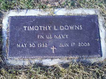 DOWNS, TIMOTHY L. - Ross County, Ohio | TIMOTHY L. DOWNS - Ohio Gravestone Photos