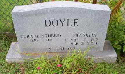 DOYLE, FRANKLIN - Ross County, Ohio | FRANKLIN DOYLE - Ohio Gravestone Photos