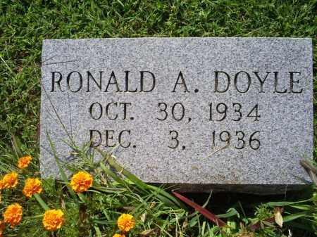 DOYLE, RONALD A. - Ross County, Ohio | RONALD A. DOYLE - Ohio Gravestone Photos