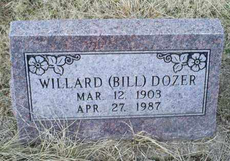 DOZER, WILLARD (BILL) - Ross County, Ohio | WILLARD (BILL) DOZER - Ohio Gravestone Photos