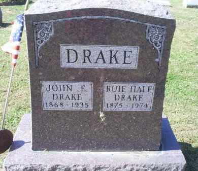 HALE DRAKE, RUIE - Ross County, Ohio | RUIE HALE DRAKE - Ohio Gravestone Photos