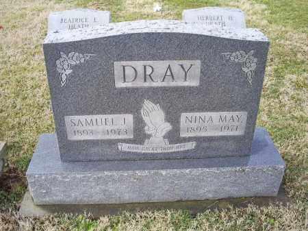 DRAY, NINA MAY - Ross County, Ohio | NINA MAY DRAY - Ohio Gravestone Photos