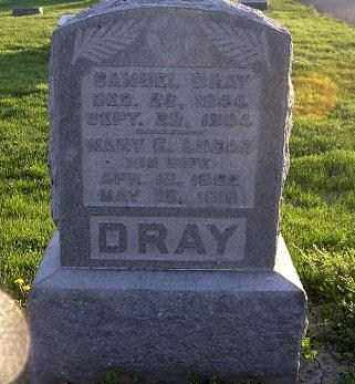 LUCAS DRAY, MARY ELIZABETH - Ross County, Ohio | MARY ELIZABETH LUCAS DRAY - Ohio Gravestone Photos