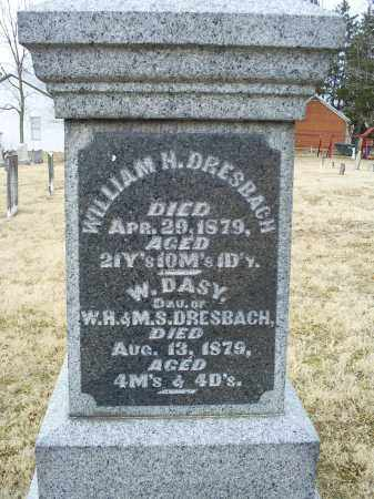 DRESBACH, WILLIAM H. - Ross County, Ohio | WILLIAM H. DRESBACH - Ohio Gravestone Photos