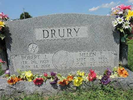 DRURY, ROBERT J. - Ross County, Ohio | ROBERT J. DRURY - Ohio Gravestone Photos