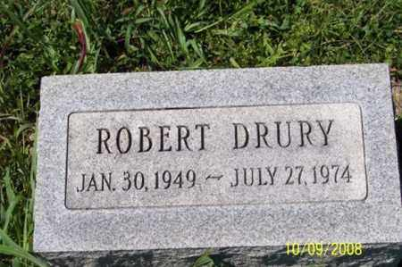 DRURY, ROBERT - Ross County, Ohio | ROBERT DRURY - Ohio Gravestone Photos