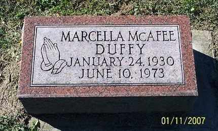 DUFFY, MARCELLA - Ross County, Ohio | MARCELLA DUFFY - Ohio Gravestone Photos